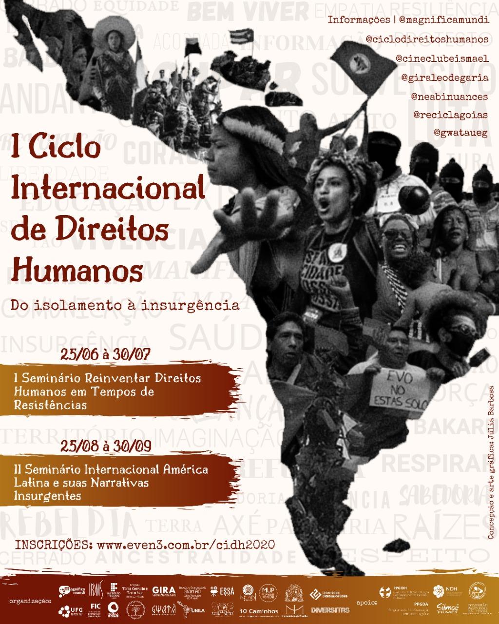 I Ciclo Internacional de Direitos Humanos: do isolamento à insurgência